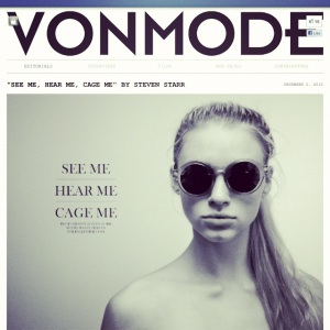 Published in VonMode! Check it out on www.vonmode.com