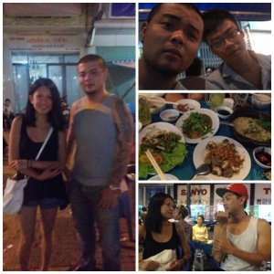A random night out in Saigon, Vietnam.